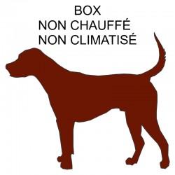 Pension box de 1 à 3 chiens de même famille non chauffé ou non climatisé