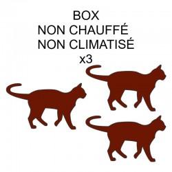 Pension box de 3 chats de...